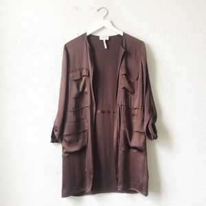 Laundry By Shelli Segal | Chocolate Dressy Jacket